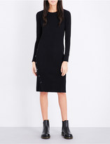 Izzue Ribbed-knit dress