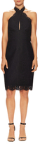 Keepsake High Roads Lace Overlay Sheath Dress