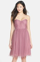 Jenny Yoo Women's 'Wren' Convertible Tulle Fit & Flare Dress