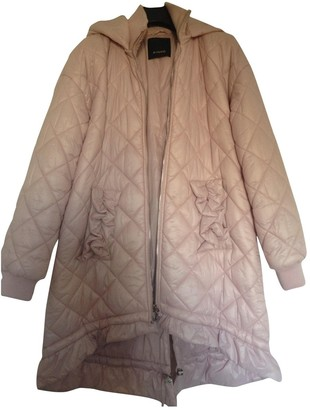 Pinko Pink Coat for Women