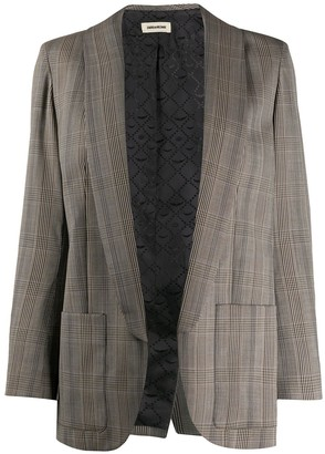 Zadig & Voltaire Prince of Wales check blazer