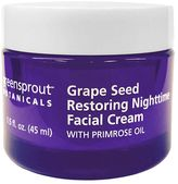 GreenSprout Botanicals Grape Seed Restoring Nighttime Facial Cream