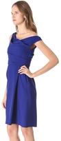 Lela Rose Off Shoulder Dress
