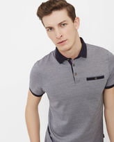 Ted Baker Jacquard polo shirt