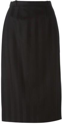 Jean Louis Scherrer Pre-Owned Sheath Skirt