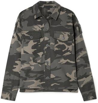 ATM Anthony Thomas Melillo Printed Stretch-cotton Twill Jacket