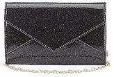 Charlotte Russe Glitter Envelope Crossbody Bag