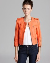 Alice + Olivia Jacket - Zipper Sleeve Biker