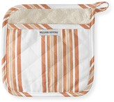 Williams-Sonoma Hampton Stripe Potholder, Pumpkin