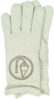 Armani Jeans Signature Wool Blend Gloves