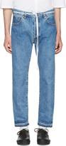 SASQUATCHfabrix. Indigo 90's Silhouette Jeans
