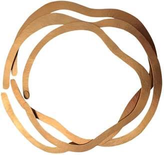 Herve Van Der Straeten \N Gold Gold plated Necklaces
