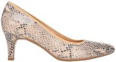 Naturalizer Oath Taupe Snake Multi Pump