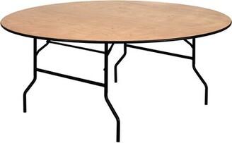 "Flash Furniture 48"" Circular Folding Table"