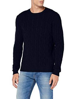 Benetton Men's Basico 2 Man Long Sleeve Top,(Size: EL)