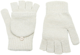 Accessorize Metallic Capped Gloves