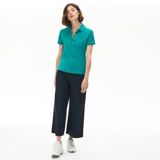 Lacoste Women's Stretch Cotton Pique Polo Shirt