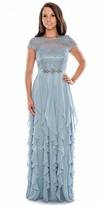 Decode 1.8 Cascading Ruffle Prom Dress