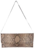 Carlos Falchi Snakeskin Shoulder Bag