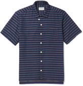 Oliver Spencer - Slim-fit Striped Cotton Shirt