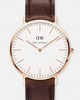 Daniel Wellington Classic Bristol Rose Gold 40mm