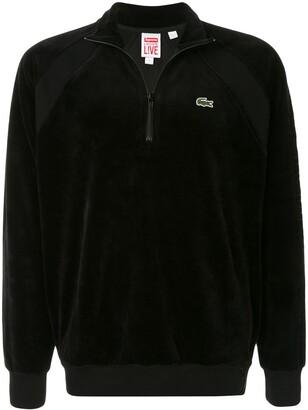 Lacoste x Supreme velour sweatshirt