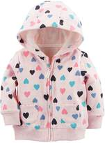 Carter's Baby Boy Colorful Hearts Zip Cardigan