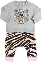 Kenzo Tiger Cotton Sweatshirt & Sweatpants