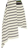 Preen by Thornton Bregazzi Turkana Striped Silk Crepe De Chine Skirt