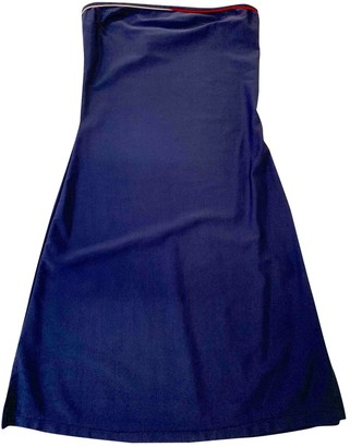 Tommy Jeans Blue Synthetic Dresses