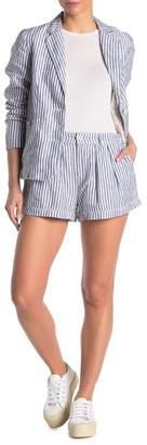 Faherty BRAND Sagaponack Striped Linen Shorts