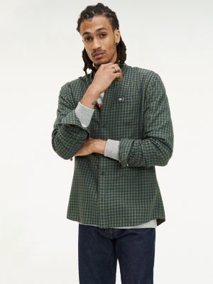 Tommy Hilfiger Pure Cotton Gingham Shirt