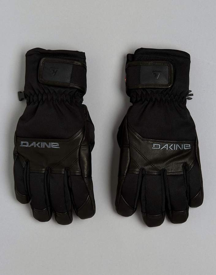Dakine Leather Ski Gloves with Gore-Tex
