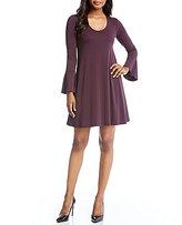 Karen Kane Taylor Flare Sleeve Dress