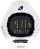 Asics Ar10 Runner Unisex White Strap Watch-Cqar1002y