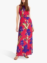 Phase Eight Silvana Maxi Dress, Hot Pink