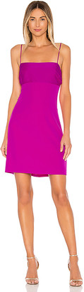 Milly Cady Dana Silk Combo Strappy Dress