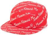 MAISON KITSUNÉ logo print cap