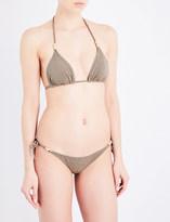 Heidi Klein Bridgehampton rope padded bikini top