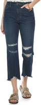 Tinseltown Juniors' Crop Kick Flare Pants