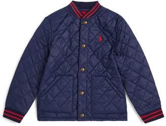 Ralph Lauren Kids Quilted Bomber Jacket (5-7 Years)