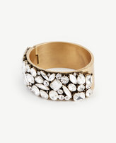 Ann Taylor Scattered Crystal Cuff