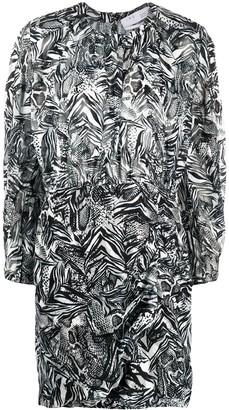 IRO Fenian animal-print dress