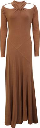 REJINA PYO Maia Cutout Twisted Jersey Maxi Dress
