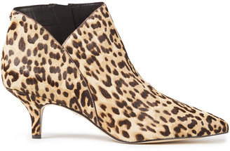Sam Edelman Kadison Leopard-print Calf Hair Ankle Boots