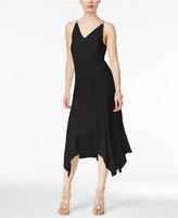 Thalia Sodi Beaded Handkerchief-Hem Dress, Created for Macy's