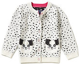Joules Baby/Little Girls 12 Months-3T Dalmation Dot Print Cardigan