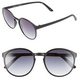 Le Specs Women's 'Swizzle' 53Mm Sunglasses - Matte Black