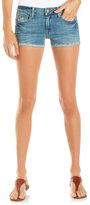 FADE TO BLUE Cutoff Denim Shorts