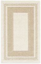 Bed Bath & Beyond Double Border Accent Rug in Cream